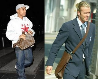 Picture: Nuovi accessori di tendenza: la borsa per luomo, David Beckam insegna
