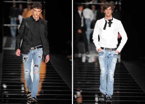 Moda uomo 2011: John Richmond jeans