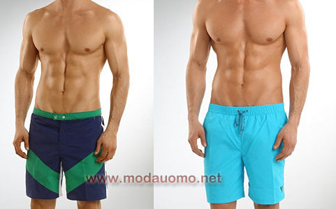costume short medio Guess 2011