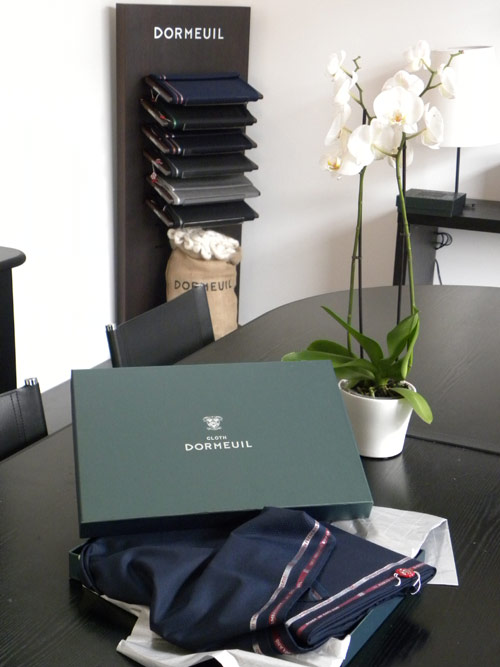 Tessuto packaging Dormeuil