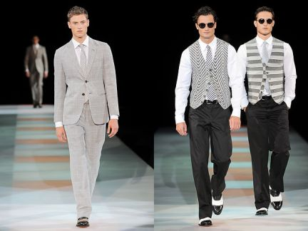 Giorgio Armani uomo primavera-estate 2012