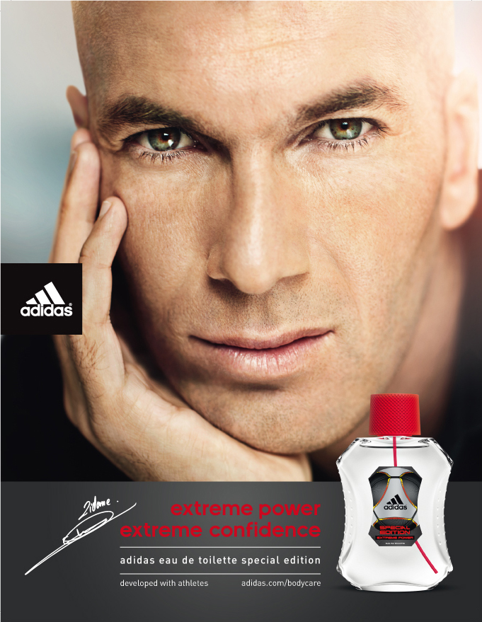 Zidane per Adidas Extreme Power Special Edition