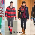 Colore e righe moda uomo 2012-13