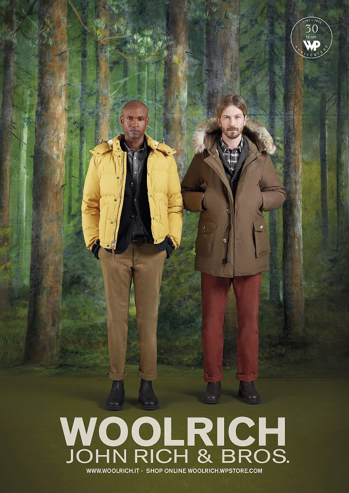 Giacconi uomo inverno 2013, Woolrich