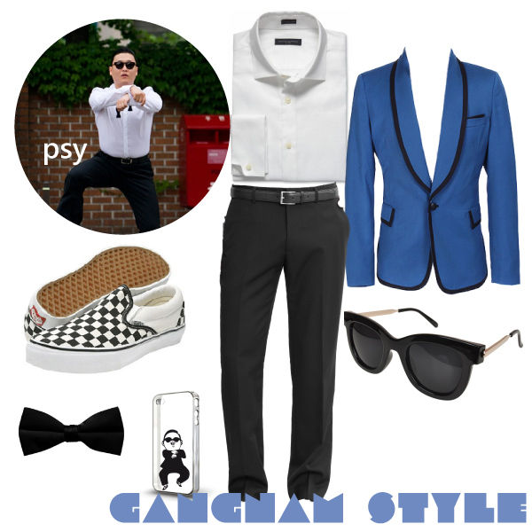 Costume Psy Gangnam STyle carnevale